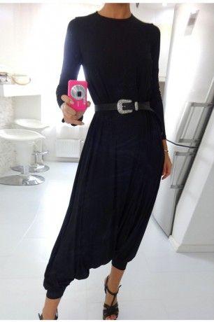 Black is always right! <3 autum casual overalls  New Arrivals   ChicDiva