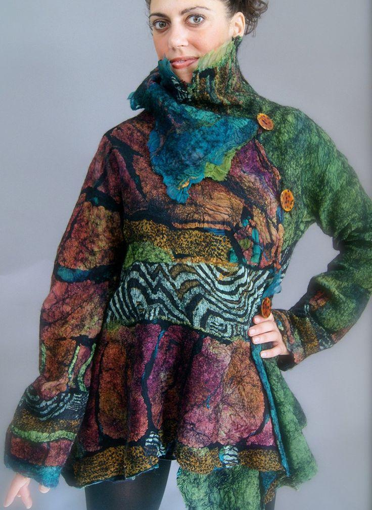 Opulent Fibers Store - Added Class- Nuno Butterfly Jacket, $425.00 (http://www.opulentfibers.com/added-class-nuno-butterfly-jacket/)