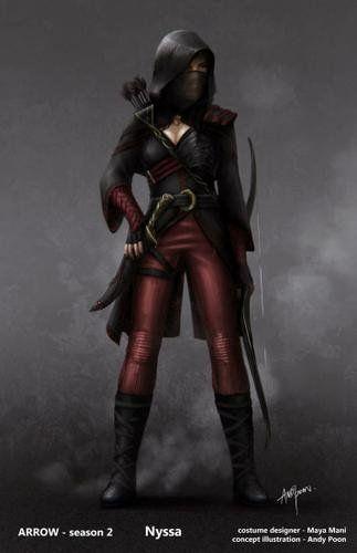 League of assassins cosplay
