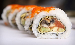 Groupon - $15 for $30 Worth of Sushi and Asian Fare at Baba Sushi, Teriyaki, Seafood Restaurant in Lexington (Lexington-Fayette). Groupon deal price: $15.00