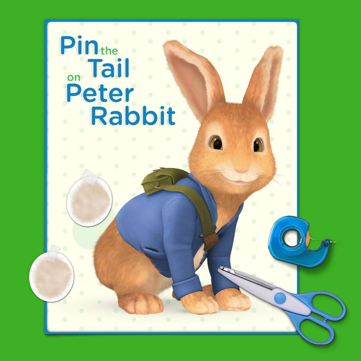 Pin the (Fluffy) Tail on Peter Rabbit