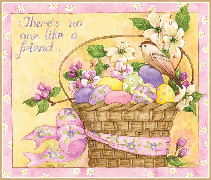 Lang April 2014: Abundant Friendship calendar by Diane Knott