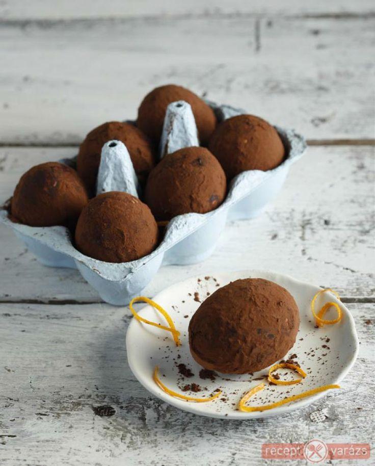 Csokis-narancsos trüffeltojás recept Készítsd el akár 2, vagy 12 főre, a Receptvarazs.hu ebben is segít!