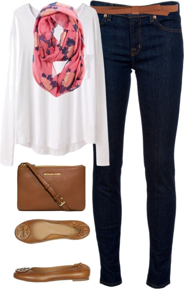 Tory Burch shoes - cute outfit