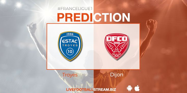 Place your bet using our Free #BettingTips for the #FranceLigue1 ⚽ game #Troyes vs #Dijon: 🔥 http://ow.ly/m09230iuabb 🔥  📲 Download App: bit.ly/LFS-App 🗣 Join our group: bit.ly/LFS-group