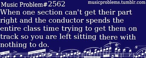 It's worse when the director is with the sops.....they had the Damn melody.....