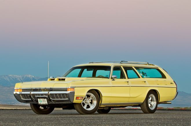 1972 Dodge Monaco Wagon