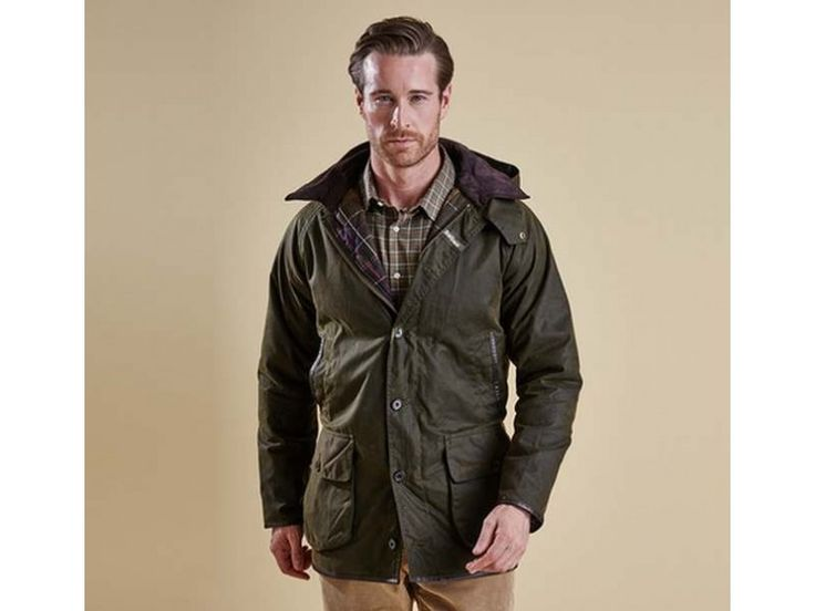 Barbour Clearance Sale Barbour Longhurst Wax Jacket Olive MWX0902OL51 Online Sale