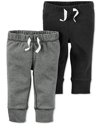 Carter's Baby Boys' 2-Pack Drawstring Pants - Sets & Outfits - Kids & Baby - Macy's