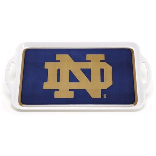 Bsi Products Inc Notre Dame Fighting Irish Melamine Serving Tray Melamine Serving Tray