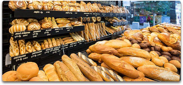 Panaderias Granier - Mostrador con Expositor de Pan #Granier Panes Artesanos