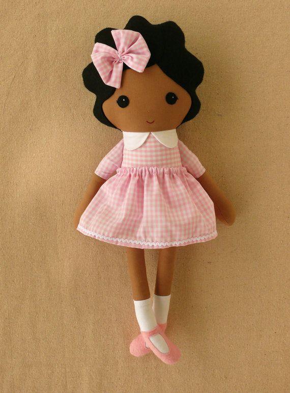 Fabric Doll Rag by rovingovine