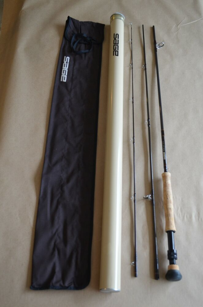 Ad Ebay Sage Fly Rod Gfl1090 3 Rplx Graphite 9 10 Weight 3 Piece With Sock And Tube Fly Rods 10 Things Travel Rod