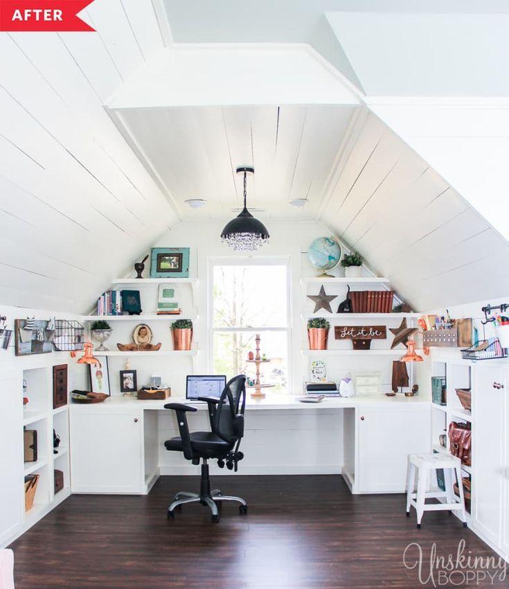 Design Ideas For Your Attic Roomdesign Ideas For Your Attic Room Atticdecors Atticdesign Attic Renovation Attic Remodel Attic Office