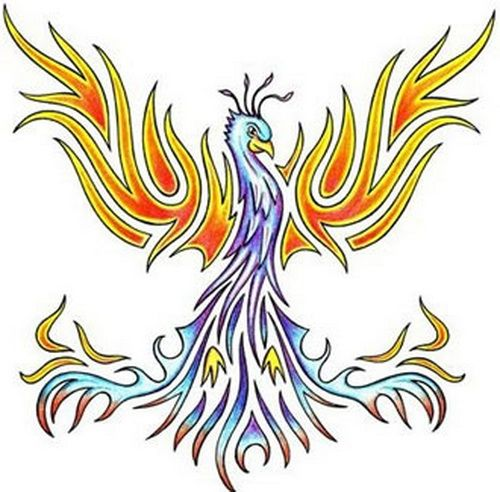 20 Simple Tribal Phoenix Tattoos For Women Ideas And Designs