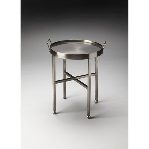 Butler Specialty Company Silver Side Table
