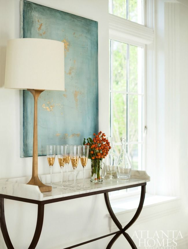 House Tour:Art Deco Revival. Elegant Home DecorDining ...