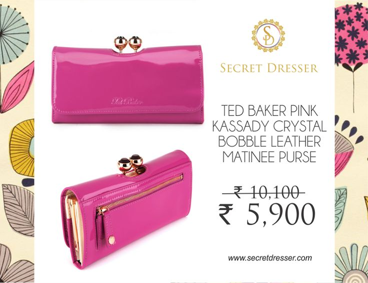 Hurry up to buy this lovely branded clutch at such an affordable prices only from #SecretDresser. Visit - http://bit.ly/2lhcnrV