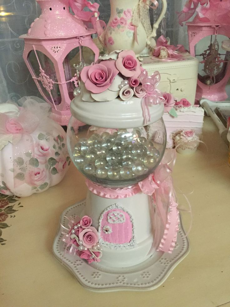 Pin By Barbie Musick On Shabby Chic Flower Pot Crafts