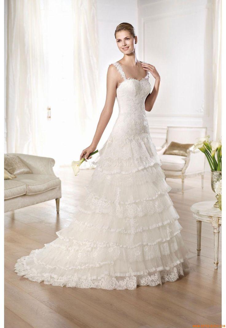 Buy Wedding Dress Pronovias Oleiro 2014 At Cheap Price