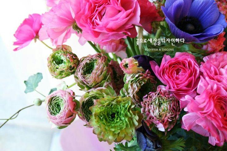 라넌큘러스♥ 꽃으로세상을디자인하다 모바일홈피 http://flowersede.modoo.at tel/070.4101.5701 kakao문의 http://plus.kakao.com/home@춘천꽃배달꽃세디