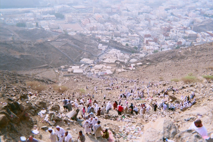 Mecca, On the way to Hira Cave