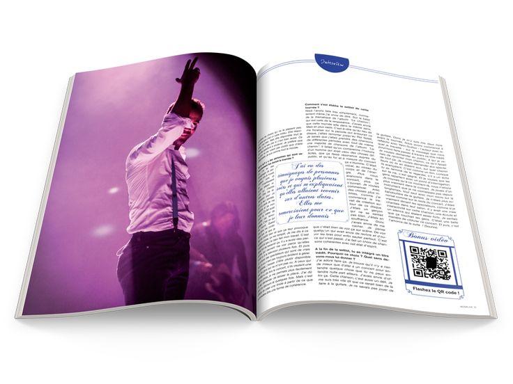 Musik Live Spécial Emmanuel Moire En kiosque le 31 Octobre 2014