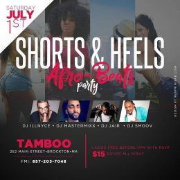 BOSTON get ready because the summer is about to get hotter, so this weekend get shorts and sexiest heels ladies and show out!!!! Ladies will be FREE before 11PM with RSVP . . . . Join the Smoovnetwork on SATURDAY, July 1st . . . with yours truly DJ Smoov alongside DJ ILL Nyce, DJ Master Mixx, and DJ Jair