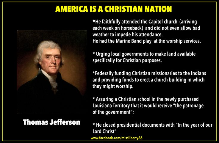 america a christian nation About 41% say america was and still is christian, 42% say it was in the past but is no longer and 15% say the us never has been a christian nation.