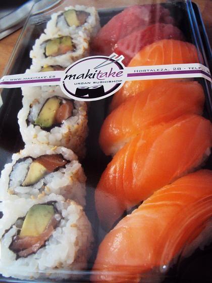 Makitake el sushi m s r pido de madrid madrid pinterest madrid and sushi - Casarse rapido en madrid ...