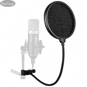 Special Price EsoGoal Studio Microphone Mic Round Shape Wind Pop Filter Mask Shield with Stand Clip Recording Vocals Home (Black)Order in good conditions EsoGoal Studio Microphone Mic Round Shape Wind Pop Filter Mask Shield with Stand Clip Recording Vocals Home (Black) ADD TO CART ES458ELAASY87WANMY-63120549 TV, Audio / Video, Gaming & Wearables Audio Live Sound & Stage Equipment EsoGoal EsoGoal Studio Microphone Mic Round Shape Wind Pop Filter Mask Shield with Stand Clip Recording Vocals…