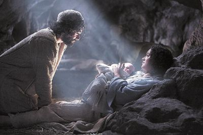 This is the real reason for Christmas ... A virgin giving birth to the son of god. The prince of peace. You would expect a prince to be born in a palace, but this prince was humble, he would be born in a manger.