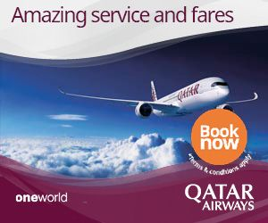 New Offers and Deals: 25% OFF SALE on Qatar Airways Flights  BOOK NOW  Experience the worlds most memorable destinations and create unforgettable moments with your loved ones by taking advantage of our incredible Early Bird fares to more than 150 places.  Enjoy up to 25% off all-inclusive fares.  Book your ticket on qatarairways.com by 20 August for travel from 10 October 2017 until 31 March 2018.  Terms and conditions  Sales period: 10 until 20 August 2017.  Travel period: from 10 October…