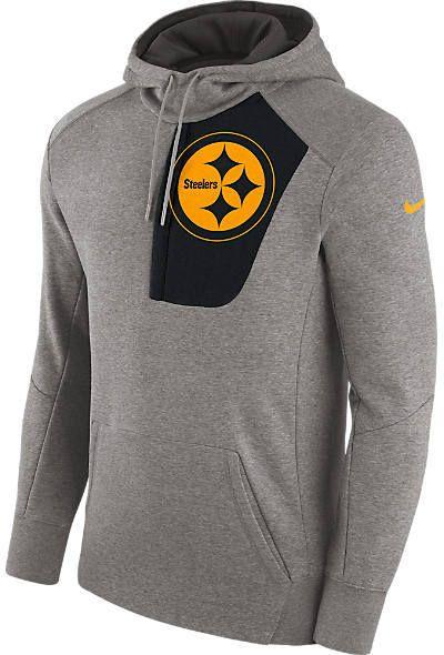 Nike Men's Pittsburgh Steelers NFL Fly Fleece Hoodie
