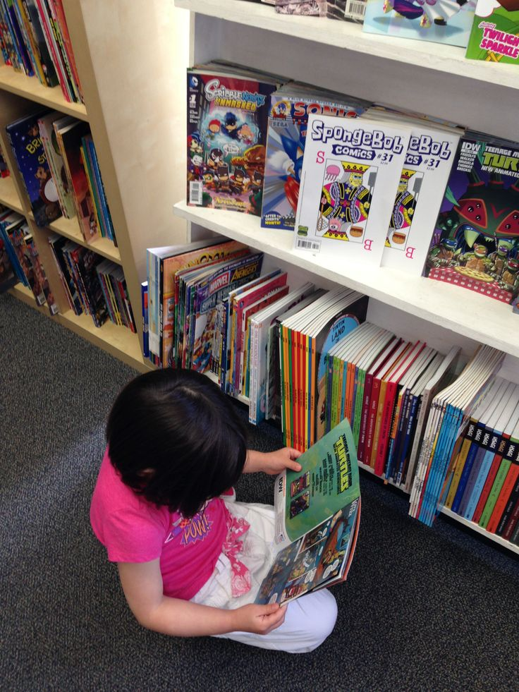 Comic book literacy!