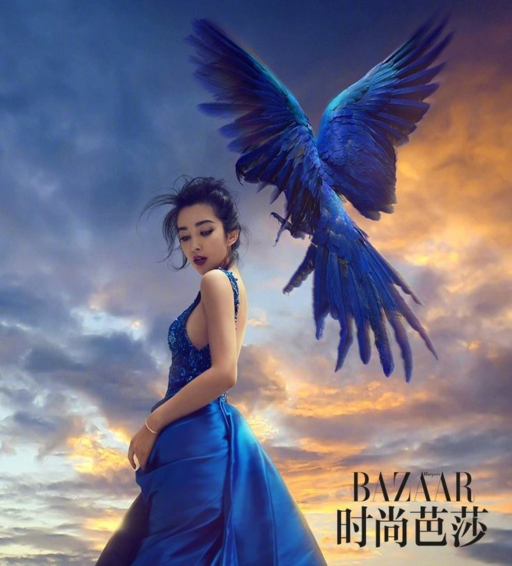 Chinese actress Li Bingbing lets out her wild side for the latest Harper's Bazaar China issue