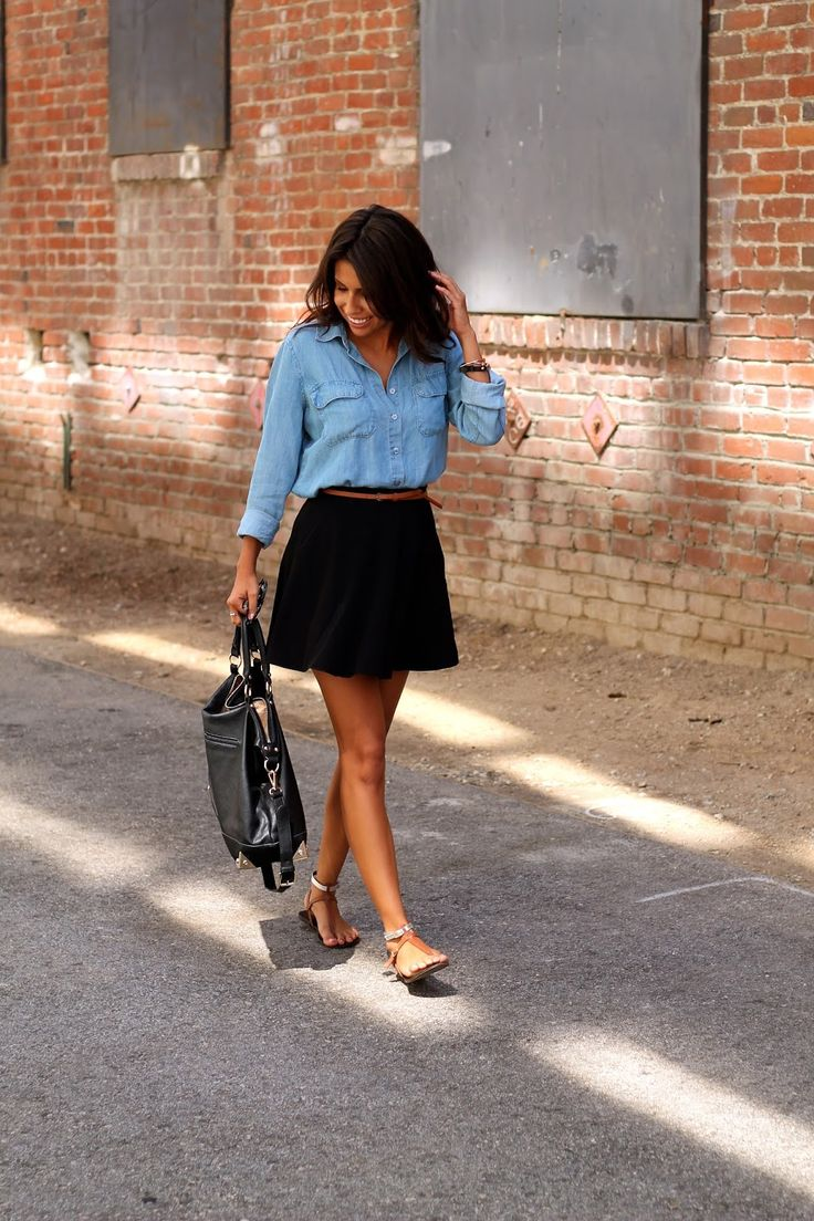 Life, Love and the Pursuit of Shoes: Chambray Thursday