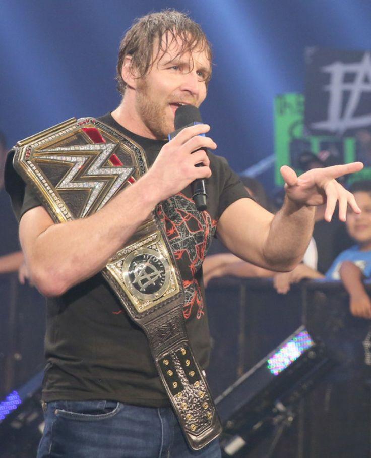 Dean Ambrose wwe champion