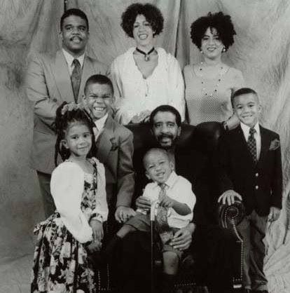 Richard Pryor Amp His Children Famous Personalities