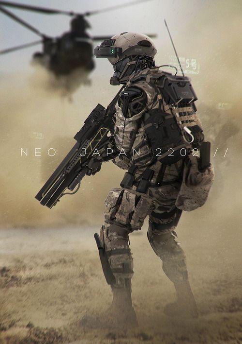 Soldier | Concept Art