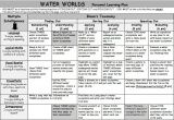 Water Worlds Personal Learning Plan - Teacher's Marketplace, the online marketplace for teachers, by teachers, with original educational digital resources, lesson plans, worksheet, printables and more!