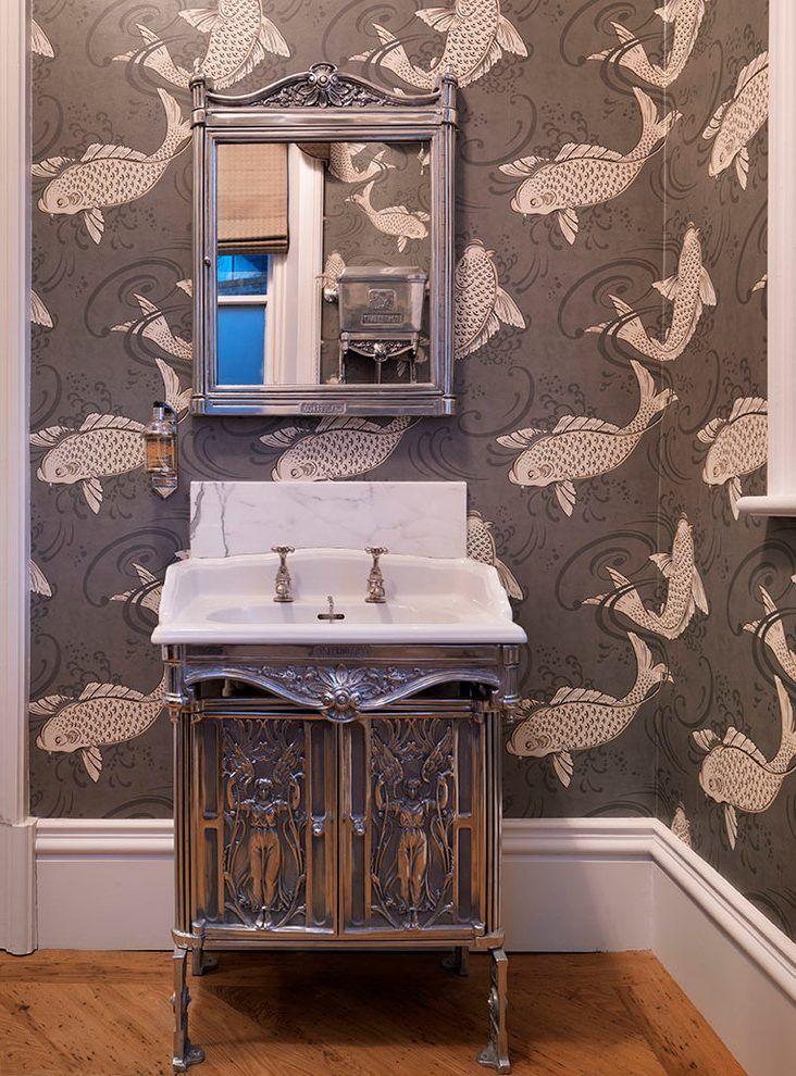 Images Photos Light Grey Bathroom Floor Tiles Light Grey Bathroom with white fixtures Love the wall tile