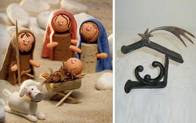 Decofilia blog ideas para decorar con belenes de navidad - Portales de belen originales ...