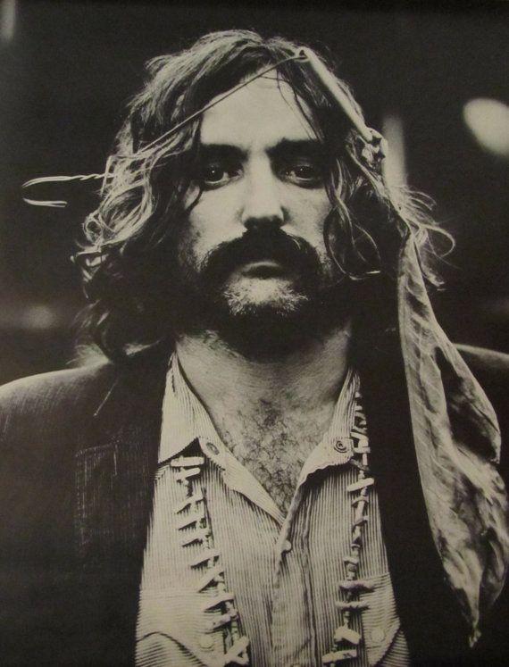 Dennis Hopper en Easy Rider, arquetipo del hippiesmo