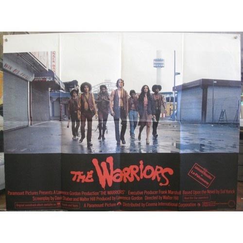 Warriors Movie Clips: The Warriors 1979 British Quad Movie Poster