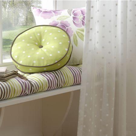 "Clarke & Clarke ""Boheme"" collection - cushions and drape"