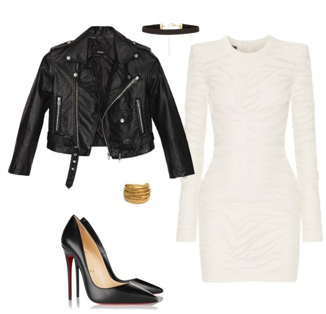 Get the chic-edgy look…