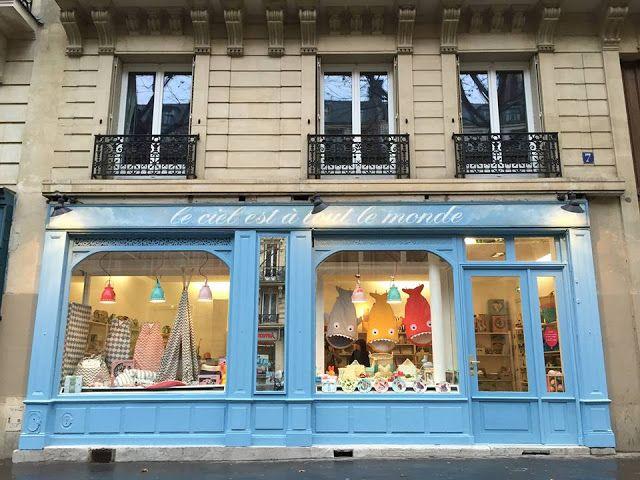 Tiendas en Paris
