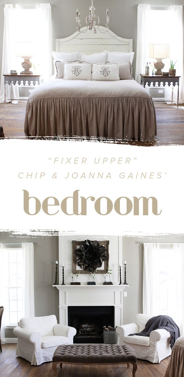 Fixer Upper Chip And Joannagaines Bedroom Is Perfection We Love How