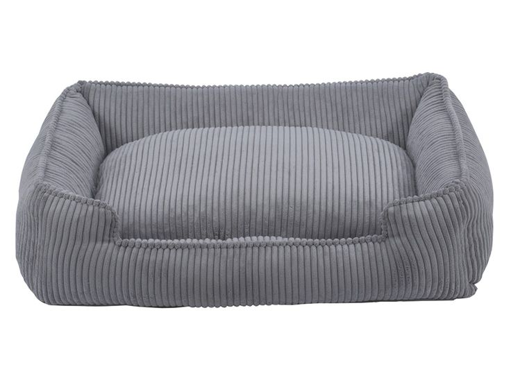 Dove Grey Lounge Bed   Designed like a sofa, our Dove Grey Corduroy Lounge Bed…